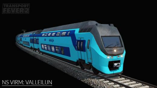 Photo of Transport Fever 2 – NS VIRM: Connexxion Valleilijn