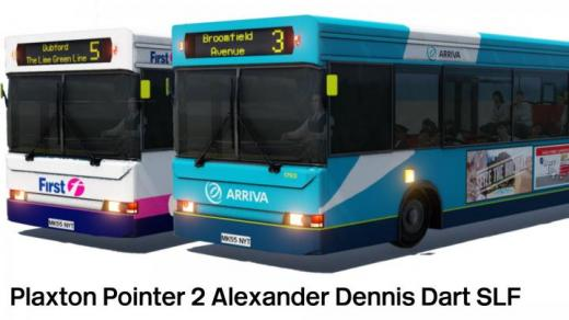 Photo of Transport Fever 2 – Plaxton Pointer 2 Alexander Dennis Dart SLF