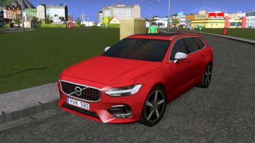 Photo of Cities: Skylines – Volvo V90 R-Design