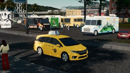 Photo of Cities: Skylines – 2019 Honda Odyssey Taxi