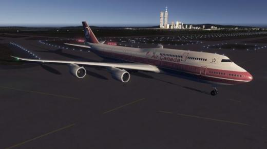 Photo of Cities: Skylines – Boeing 747-8i, Air Canada Retro livery, C1988