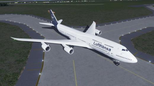 Photo of Cities: Skylines – Boeing 747-8i, Lufthansa Updated Livery (2018)