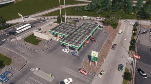 Photo of Cities: Skylines – BP Gas Station [RICO]