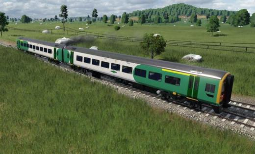 Photo of Transport Fever 2 – British Rail Class 158 Southern Rail