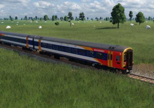 Photo of Transport Fever 2 – British Rail Class 158 SouthWest Trains