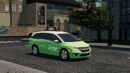 Photo of Cities: Skylines – Green Taxi 2019 Honda Odyssey