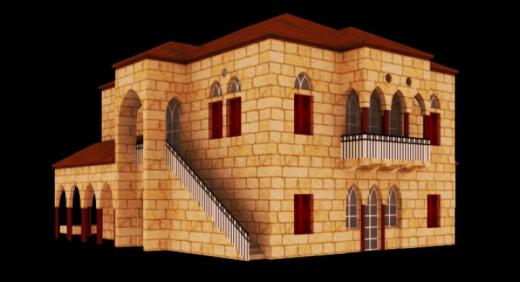 Photo of Cities: Skylines – Lebanese Hall House (L4 3x3x2)