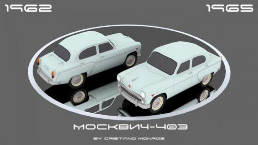 Photo of Cities: Skylines – Moskvich-403