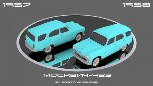 Photo of Cities: Skylines – Moskvich-423
