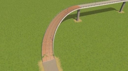 Photo of Cities: Skylines – Pedestrian Path with Stairs