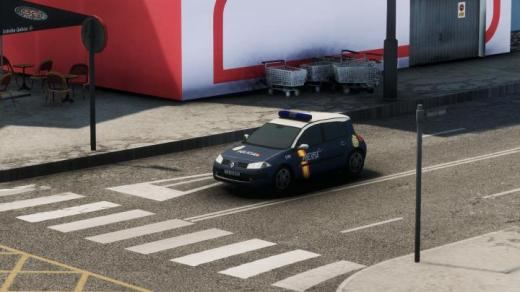 Photo of Cities: Skylines – Renault Megane II Spanish Police