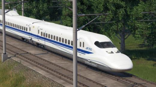 Photo of Transport Fever 2 – Shinkansen 700