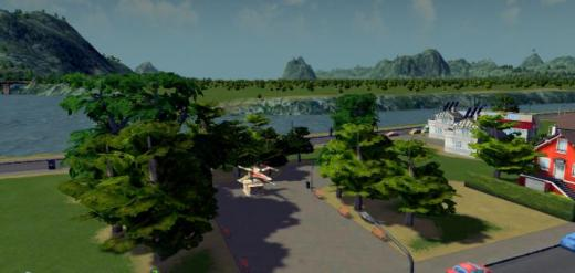 Photo of Cities: Skylines – Star Wars: X Wing Park