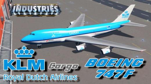 Photo of Cities: Skylines – Boeing 747F KLM Cargo