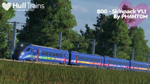Photo of Transport Fever 2 – Class 800 Skinpack V1.1