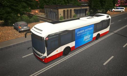 Photo of Cities: Skylines – D3S Volvo 7900 Hybrid Hochbahn