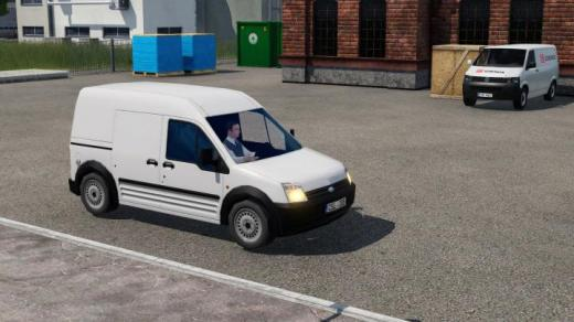Photo of Transport Fever 2 – Ford Transit Connect