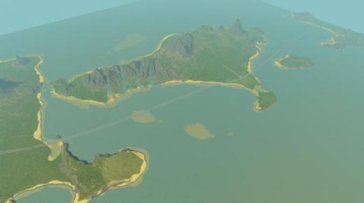 Photo of Cities: Skylines – Indonesia – Bali – Island Map