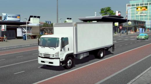 Photo of Cities: Skylines – Isuzu F-Series FTR