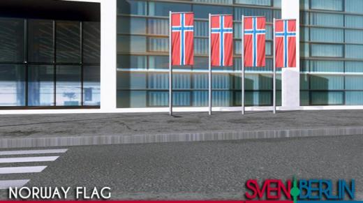 Photo of Cities: Skylines – Norway Flag