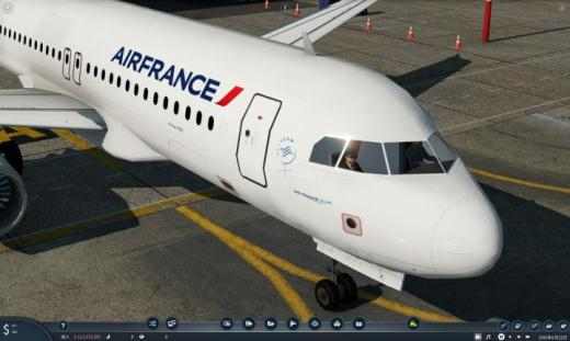 Photo of Transport Fever 2 – Air France Airbus A320
