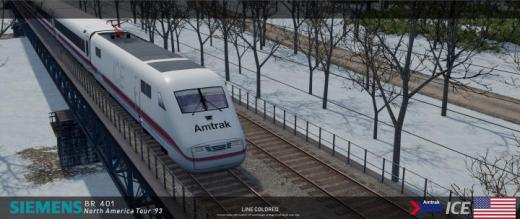 Photo of Cities: Skylines – Amtrak ICE (6Cars)