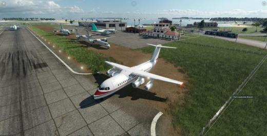 Photo of Transport Fever 2 – BAE-146 Short Field Use