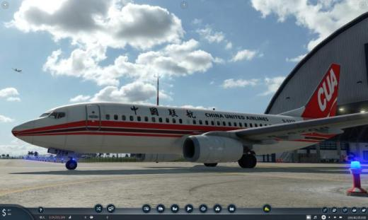 Photo of Transport Fever 2 – China United Airlines Boeing 737-700