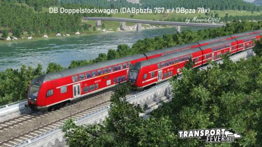 Photo of Transport Fever 2 – DB Doppelstockwagen