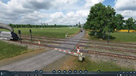 Photo of Transport Fever 2 – Fixed Level Crossing Animations