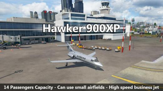 Photo of Transport Fever 2 – Hawker 900XP