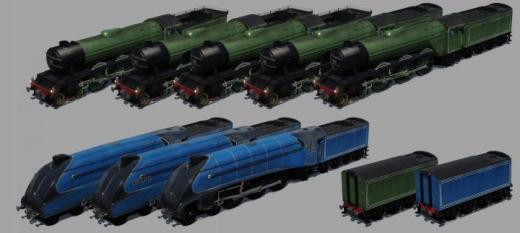 Photo of Transport Fever 2 – LNER A1/A3/A4 Pacific Expansion & Fixed A4 Animations