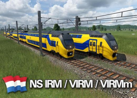 Photo of Transport Fever 2 – NS DD-IRM, VIRM & VIRMm