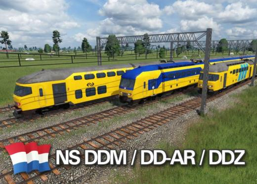 Photo of Transport Fever 2 – NS DDM, DD-AR, & DDZ