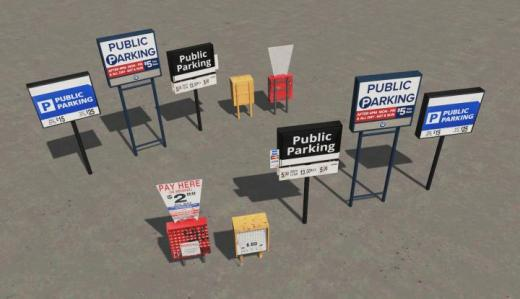 Photo of Cities: Skylines – Parking Lot Signs NA-2
