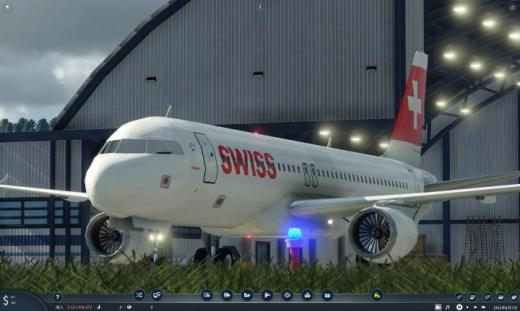 Photo of Transport Fever 2 – Swiss International Air Lines Airbus A320