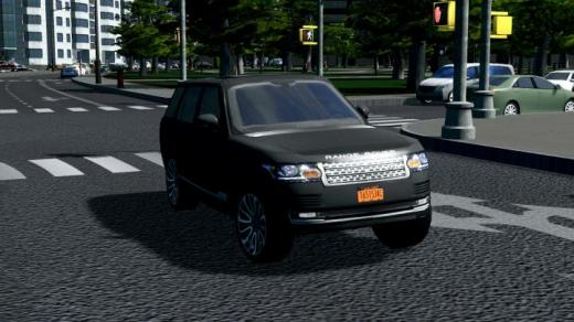 Photo of Cities: Skylines – Uber/Taxi 2017 Land Rover Range Rover Uber Black SUV