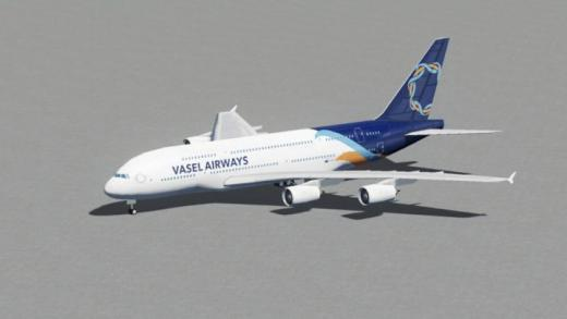 Photo of Cities: Skylines – A380-800 Vasel Airways Pack