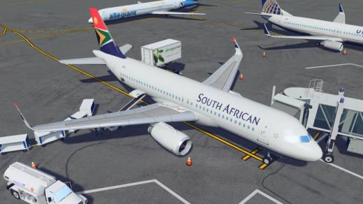 Photo of Cities: Skylines – Airbus A320-200 South African Airways