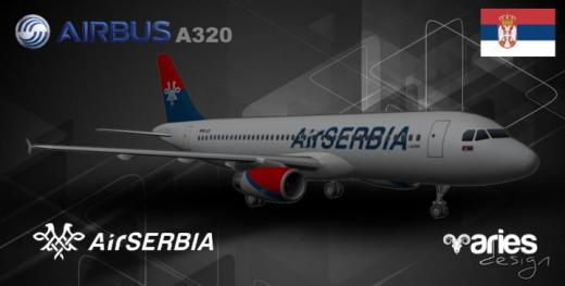 Photo of Cities: Skylines – Airbus A320 AirSerbia