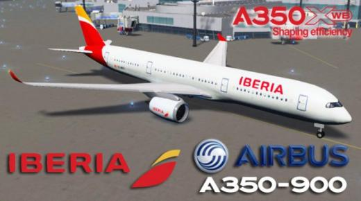 Photo of Cities: Skylines – Airbus A350-900 XWB Iberia