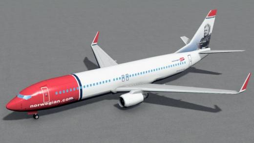 Photo of Cities: Skylines – Boeing 737-800  Norwegian Air Shuttle Minna Canth
