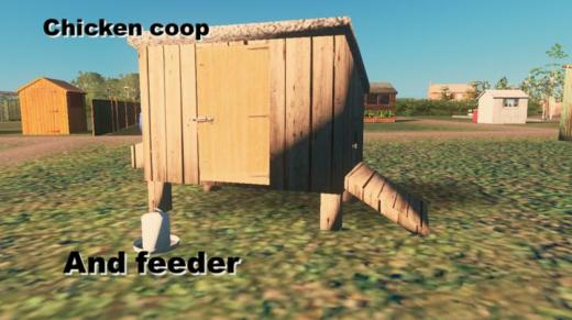 Photo of Cities: Skylines – Chicken Coop and Feeder