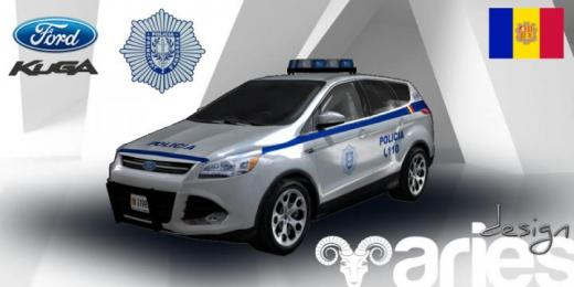 Photo of Cities: Skylines – Ford Kuga Policia (AND)