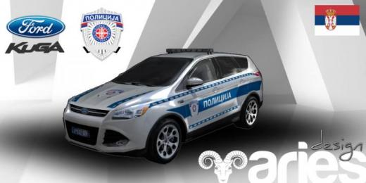 Photo of Cities: Skylines – Ford Kuga Policija (SRB)