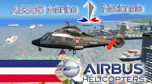 Photo of Cities: Skylines – Helicopter AS365 Marine Nationale