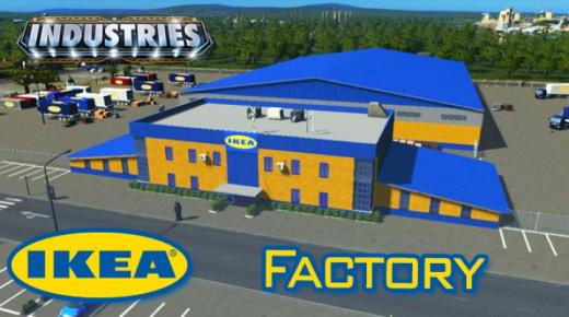 Photo of Cities: Skylines – Ikea Factory