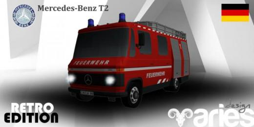 Photo of Cities: Skylines – Mercedes-Benz T2 Feuerwehr (DE)