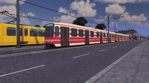 Photo of Cities: Skylines – Tram: HTM TW6000 2x