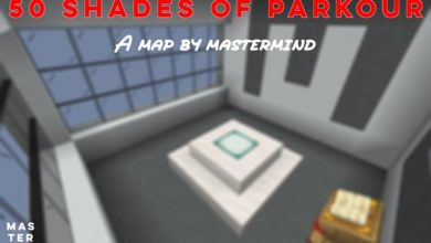 Photo of Minecraft – 50 Shades of Parkour Map